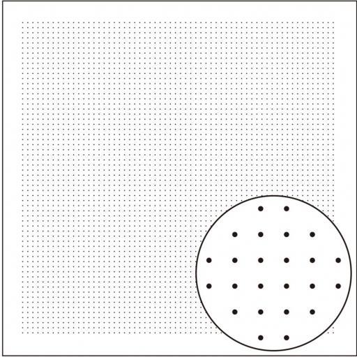 Tela patchwork impresa Sashiko blanca [0]
