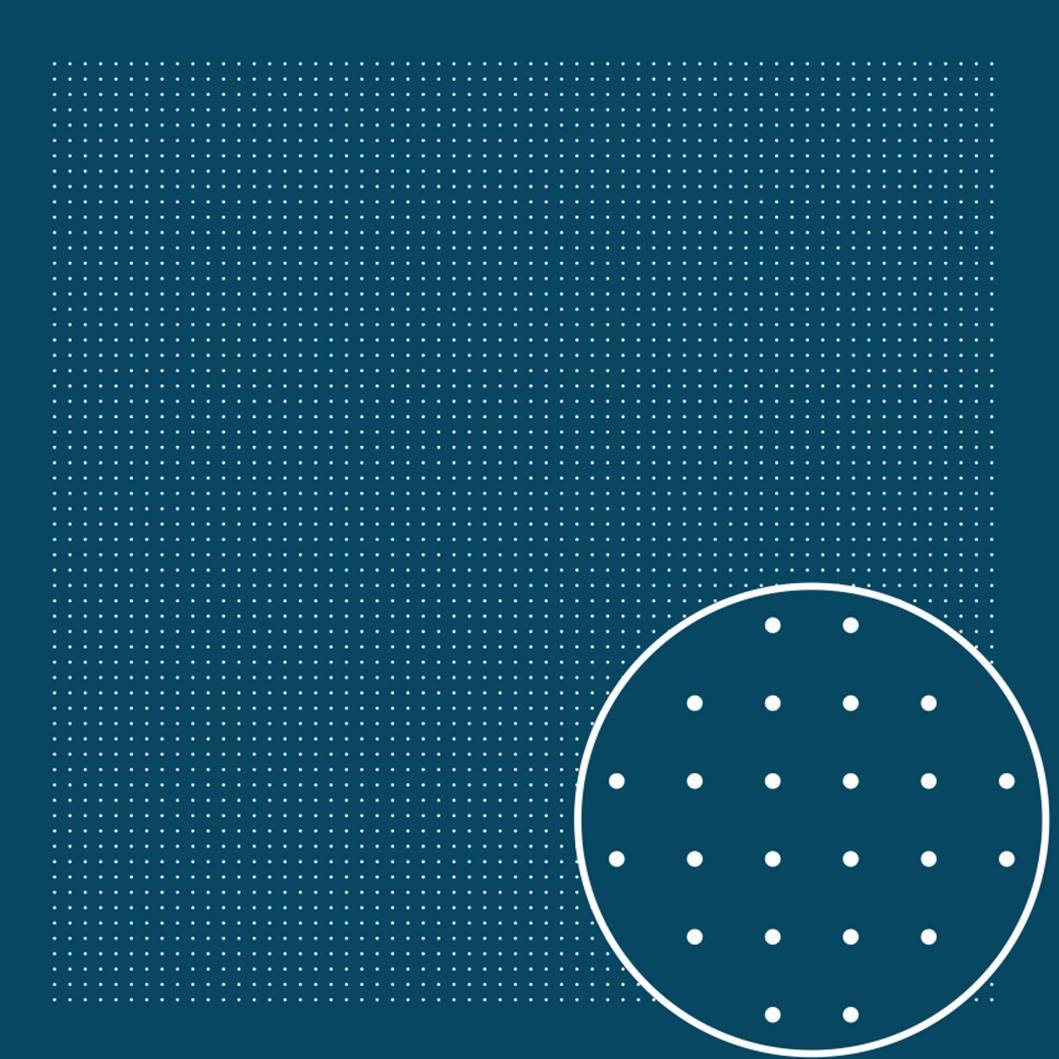 Tela patchwork impresa Sashiko navy