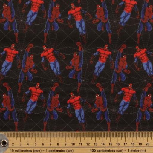 Tela algodón hidrófuga Spiderman [1]