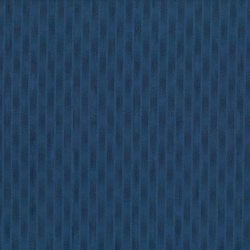 Tela patchwork fondo azul con puntitos oscuros