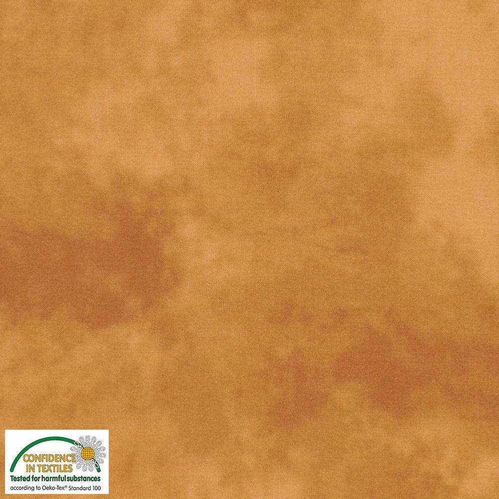 Tela patchwork marmoleada ocre 205