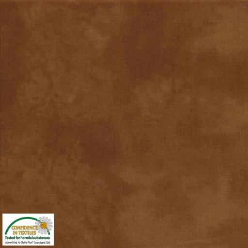Tela patchwork marmoleada 309 marrón chocolate