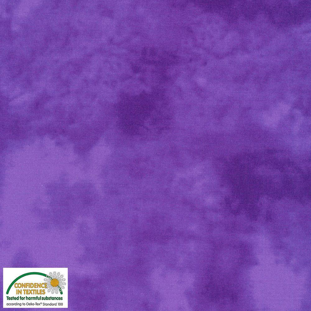 Tela patchwork marmoleada violeta
