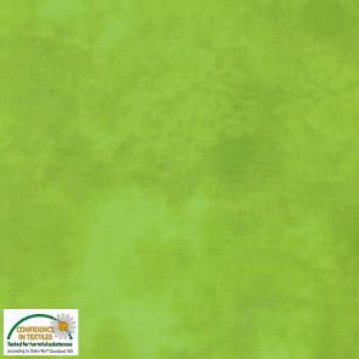 Tela patchwork marmoleada verde 803