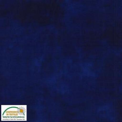 Tela patchwork marmoleado azul marino