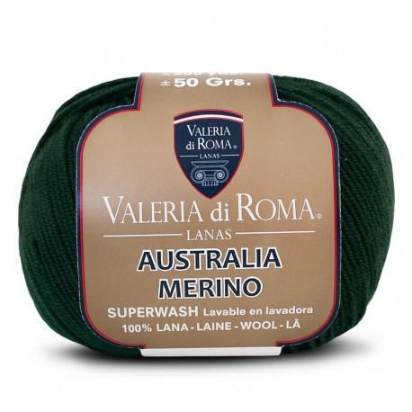 Australia Merino 130 Verde pino