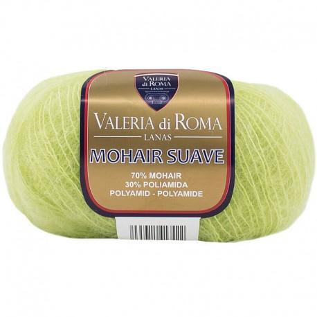 Mohair suave 123 Verde manzana
