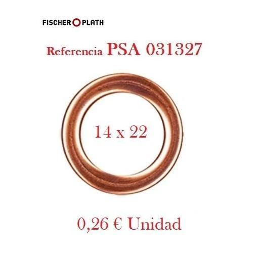 Arandela Cárter PSA, Ford, Toyota Metaloplástica 14 x 22