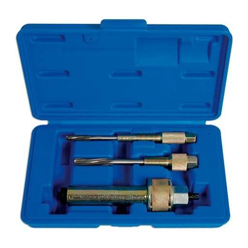 Extractor y Reparador de Rosca de Calentador - 3 Piezas