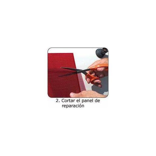 Placa Auto Adhesiva BLANCA para la Reparación de Faros Traseros. [2]