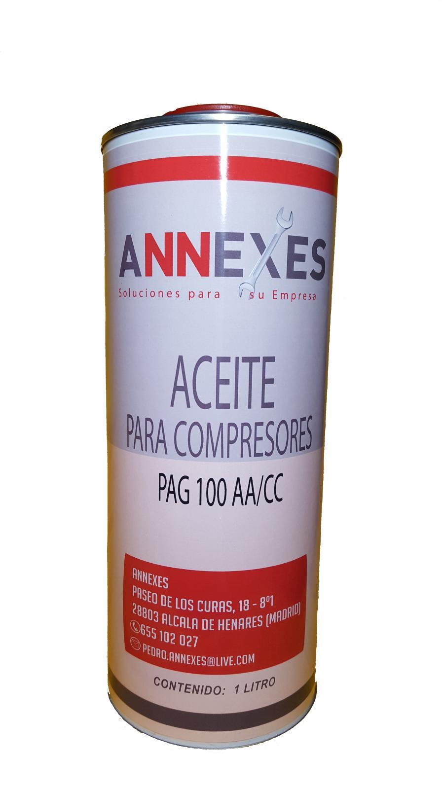 Aceite para Compresor de A/A  1 litro
