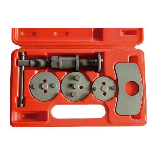 Retractor de Pistones de Frenos con Rosca Izquierda -5 Piezas.