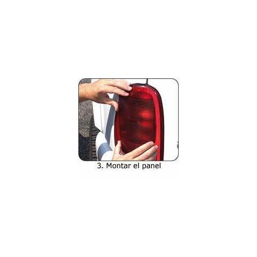 Placa Auto Adhesiva ROJA para la Reparación de Faros Traseros. [3]
