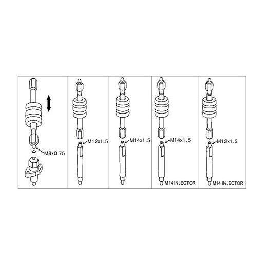 Extractor de Inyectores Diésel [2]