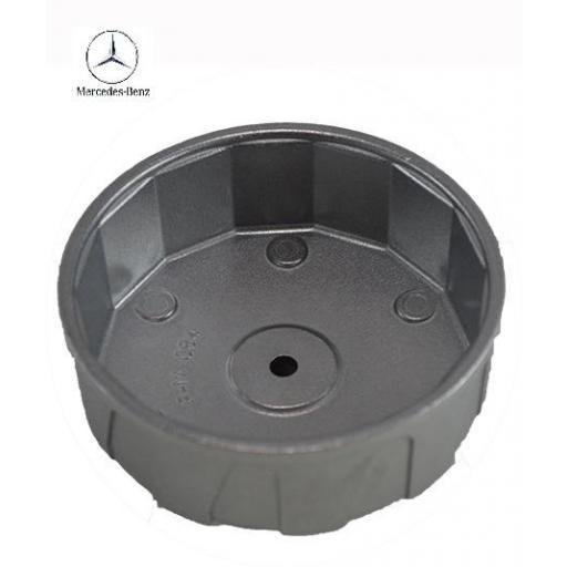 Llave de Filtro para Motores Mercedes Benz 84 mm  14 Caras