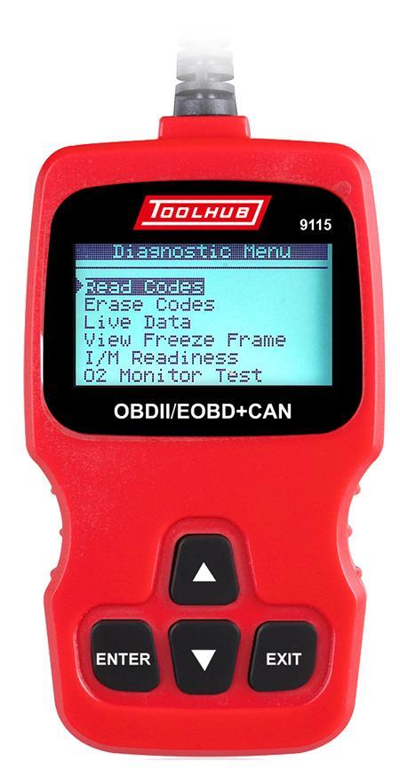 Lector OBDII / EODB + CAN Diésel y Gasolina