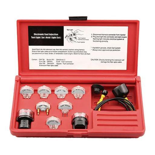 Juego para Comprobar Sistema Eléctrica de Inyección Gasolina - 11 Piezas
