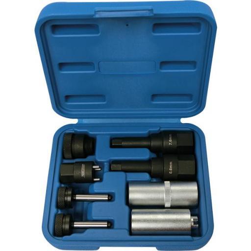 Kit para Extraer y Reparar Inyectores Common Rail  (8 Piezas)