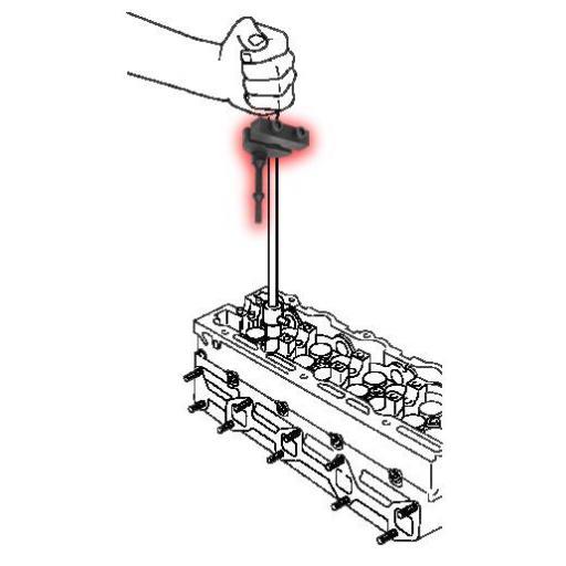 Adaptador de Martillo Neumático para Extractor de Inyectores. [1]