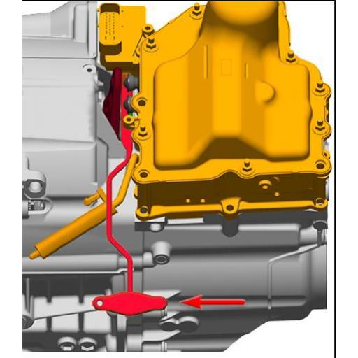 Llave para Transmisión DSG 7 Velocidades - VAG [1]