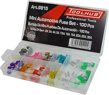 Surtido de Mini-Fusibles de Automoción - 120 Piezas