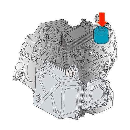 """Llave para Filtro de Transmisión DSG VAG - 1/2"""", 24 mm [1]"""