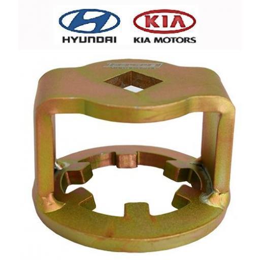 Llave para Filtro de Aceite Kia / Hyundai