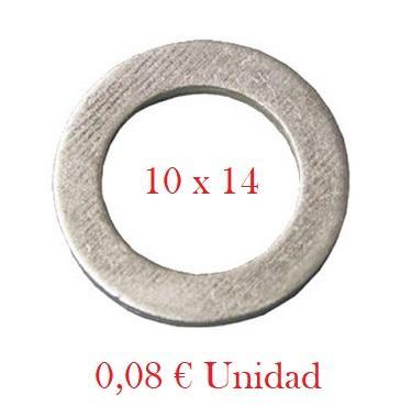 Arandela Cárter VAG - Aluminio 10 x 14 mm