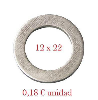 Arandela Cárter PSA, Toyota - Aluminio 12 x 22 x 2,0 mm
