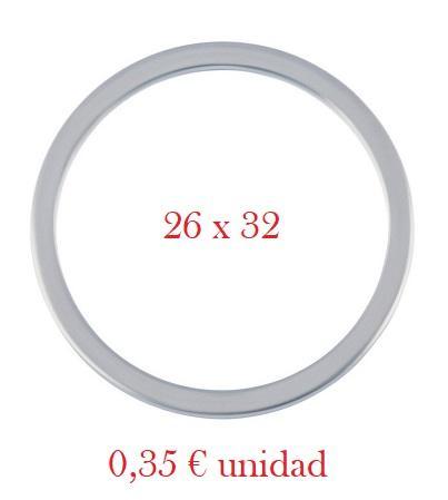 Arandela Cárter VAG - Aluminio 26 x 32 x 2,0 mm