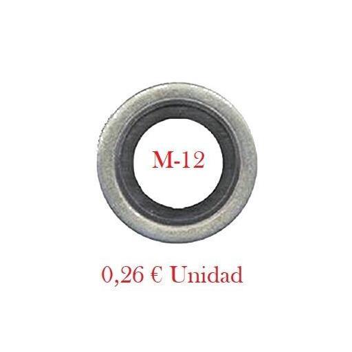 Arandela Cárter Metal-Goma  M12 [0]