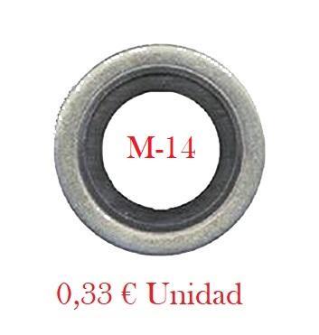 Arandela Carter FORD Metal-Goma  M14