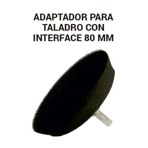 Adaptador para taladro con interface 80 mm. [0]