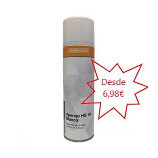 Aparejo en Spray Blanco RAL 9003  500ml.