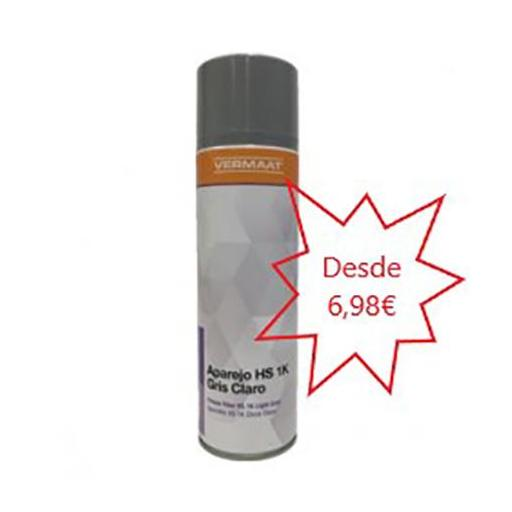 Aparejo en Spray Gris Claro RAL 7040  500ml.