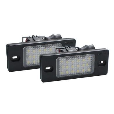 Plafón de Matrícula LED VW, Porsche, Audi LP-PSK
