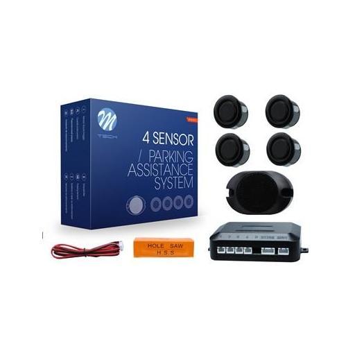 Sensores de aparcamiento CP17 buzzer, diámetro 18mm (Negro, Plata o Blanco)