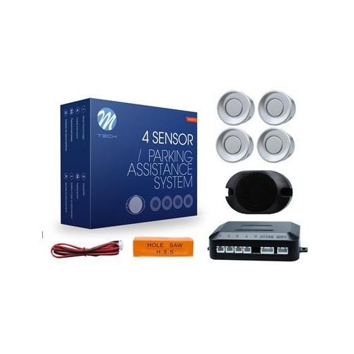 Sensores de aparcamiento CP17 buzzer, diámetro 18mm (Negro, Plata o Blanco) [1]