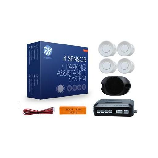 Sensores de aparcamiento CP17 buzzer, diámetro 18mm (Negro, Plata o Blanco) [2]