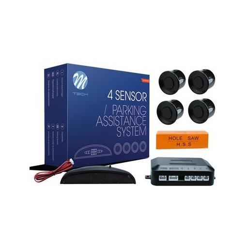 Sensores de aparcamiento CP4 pantalla LED (Negro, Plata o Blanco)