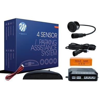 Sensores de aparcamiento CP5 pantalla LED + conectores (Negro, Plata o Blanco)