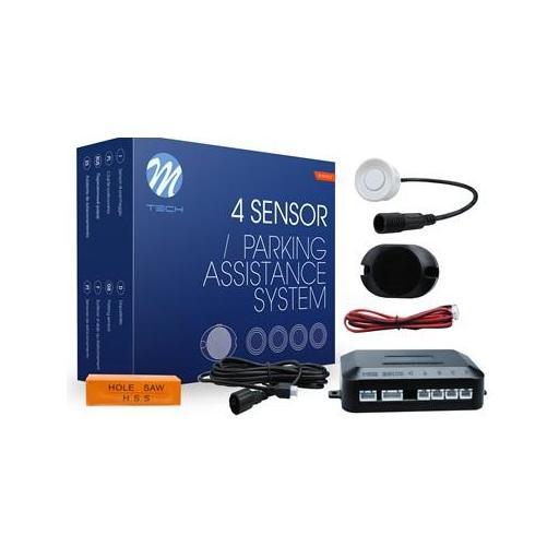 Sensores de aparcamiento CP6 buzzer + conectores (Negro, Plata o Blanco) [2]