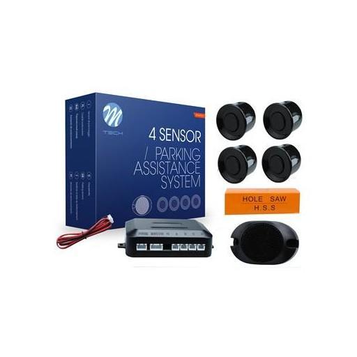 Sensores de aparcamiento CP7 buzzer (Negro, Plata o Blanco)