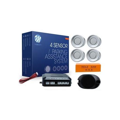 Sensores de aparcamiento CP7 buzzer (Negro, Plata o Blanco) [1]