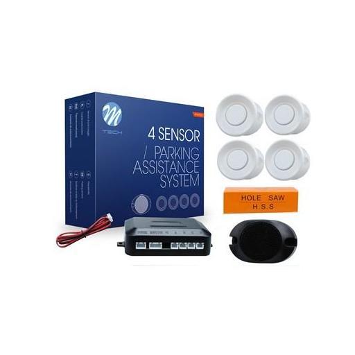 Sensores de aparcamiento CP7 buzzer (Negro, Plata o Blanco) [2]