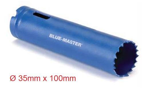 Corona Perforadora Bi-Metal 35 mm Extralarga Acero Rápido M3