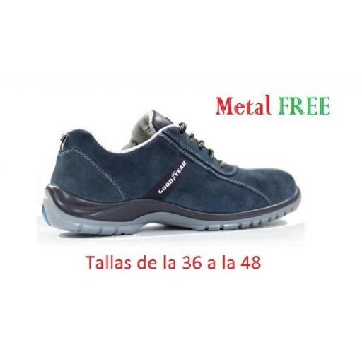 Zapato de Seguridad G138/3052C  GoodYear