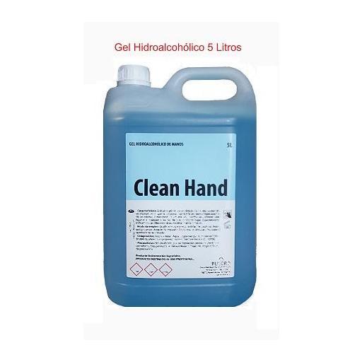 Gel de Manos Hidroalcohólico CLEAN HAND  5 Litros