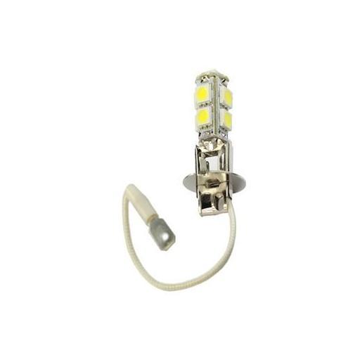 Lámpara LED H3 PREMIUM 12V 9xSMD5050  Blanco