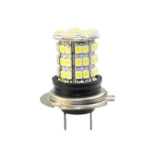 Lámpara LED H7 PREMIUM 12V  6xSMD5050 + 42xSMD3528  Blanco